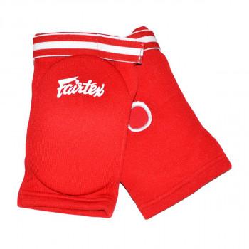 elbow pads - Fairtex - 'EBE1' - Red