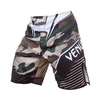 Board Shorts - Venum - Camo Hero Fight - Grøn/Brun