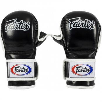 mma sparring gloves - Fairtex - 'FGV15' - Black