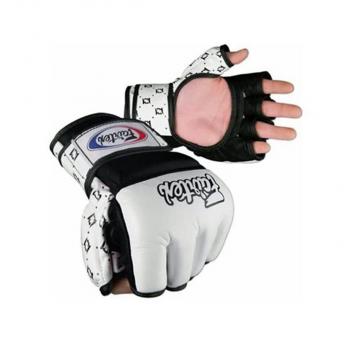 mma gloves - Fairtex - 'FGV17' - White