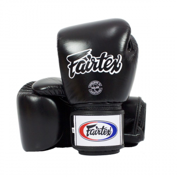 boxing gloves - Fairtex - 'BGV1' - Black