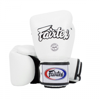boxing gloves - Fairtex - 'BGV1' - White