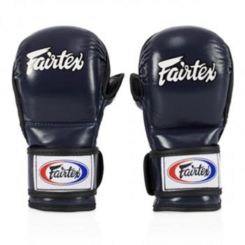 mma sparring gloves - Fairtex - 'FGV15' - Blue
