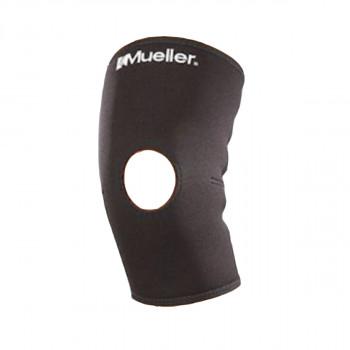 Knæskalsbind - Mueller - Neopren med hul