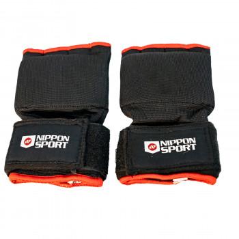 Inner Gel Gloves - Nippon Sport - Black