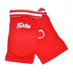 elbow pads - Fairtex - 'EBE1' - Red