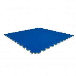 Puzzle tatami mat - Nippon Sport - Blue/Yellow - 2,5cm