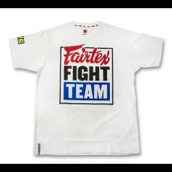T-shirt - Fairtex - Fight Team - Vit