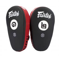 focus pads - Fairtex - 'FMV12' - Black/Red