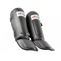 shin guard - Fairtex - 'SP3' - Black