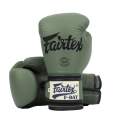 boxing gloves - Fairtex - 'BGV11' - Green