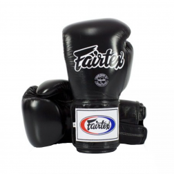 boxing gloves - Fairtex - 'BGV5' - Black