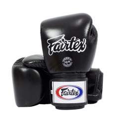 boxing gloves - Fairtex - 'BGV1' - Black