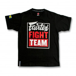 T-shirt - Fairtex - Fight Team - Svart