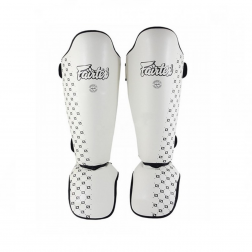 shin guard - Fairtex - 'SP5' - White