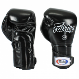 boxing gloves - Fairtex - 'BGV6' - Black