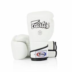 boxing gloves - Fairtex - 'BGV6' - White