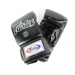 bag gloves - Fairtex - 'TGO3' - Black