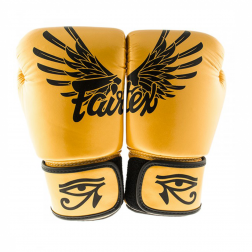 boxing gloves - Fairtex - 'BGV1' - Gold
