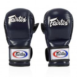mma sparring gloves - Fairtex - 'FGV15' - Blue