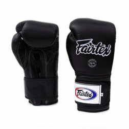 boxing gloves - Fairtex - 'BGV9' - Black