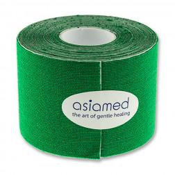 Kinesiologitape - Asiamed - 5cm x 5m - Grøn