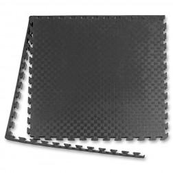 Tatami Puzzle Måtte - 2,5 cm sort/grå