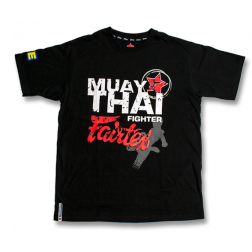 T-shirt - Fairtex - Muay Thai Fighter - Sort - SWEDEN