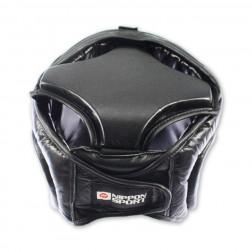 Hovedbeskytter - Nippon Sport hjelm med visir- Fuldkontakt