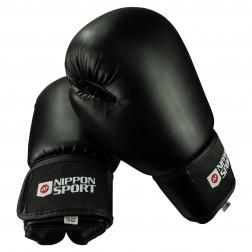 boxing gloves - Nippon Sport - 'Club' - Black