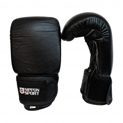 bag gloves - Nippon Sport - 'Pro' - Black