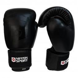 boxing gloves - Nippon Sport - 'Gauntlet' - Black