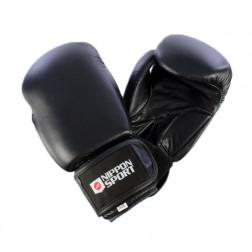 boxing gloves - Nippon Sport - 'Pro' - Black