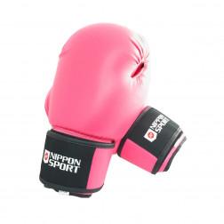 boxing gloves - Nippon Sport - 'Club' - Pink