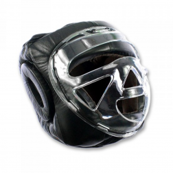 boxing helmet - Nippon Sport - 'NHB' - Black