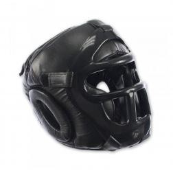 boxing helmet - Nippon Sport - 'Fullcontact' - Black