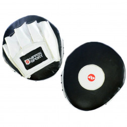 focus pads - Nippon Sport - 'Speedpad' - Black/White