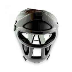 boxing helmet - Nippon Sport - 'Full Contact Prime' - Black