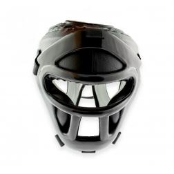 Hovedbeskytter - Nippon Sport hjelm med visir - Full Contact Prime
