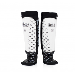shin guard - Fairtex - 'SP6' - White
