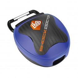 Etui til tandbeskyttere - Shock Doctor mouthguard case - blå
