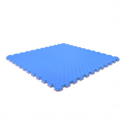 Tatami Puzzle Måtte - 2,5 cm rød/blå