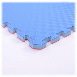 puzzle tatami mat - Nippon Sport - Red/Blue - 2,5cm