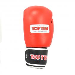 Boksehandsker - TOP TEN - AIBA - 10oz - Rød