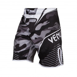 Board Shorts - Venum - Hero Fight - Camo - Sort/Hvid