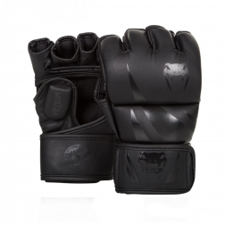 MMA Handsker - Venum - Challenger - Sort/Sort