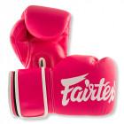 Fairtex - BGV14 Pink hvidt Logo